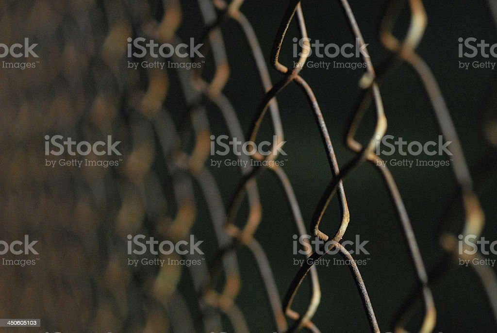 Rusty Chain Link royalty-free stock photo