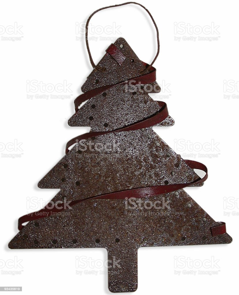 Rusty Christmas Tree royalty-free stock photo