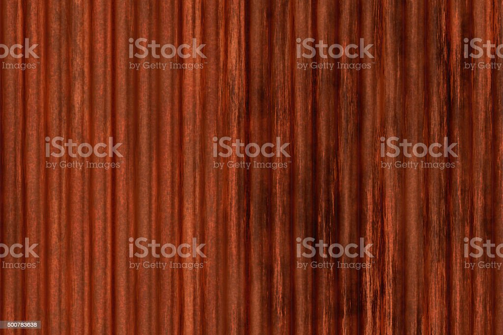 Rusty corrugated iron stock photo