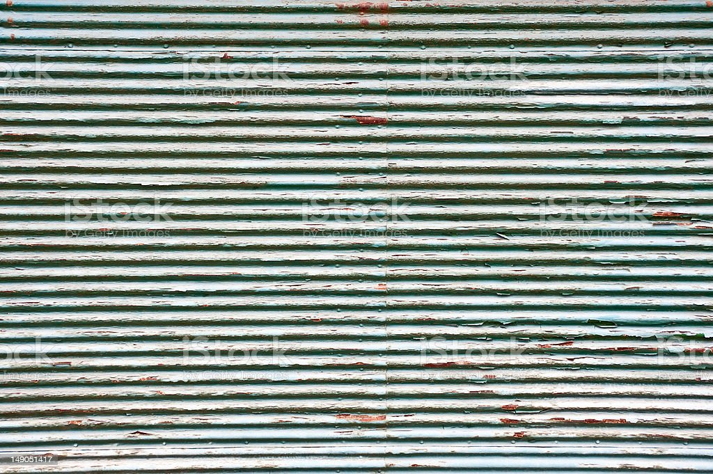 Rostige geriffelten Oberfläche – Foto