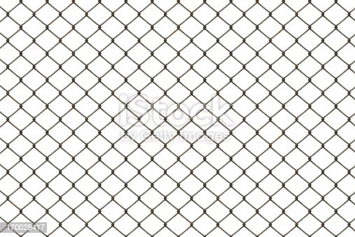 High detailed fence, digital illustration.