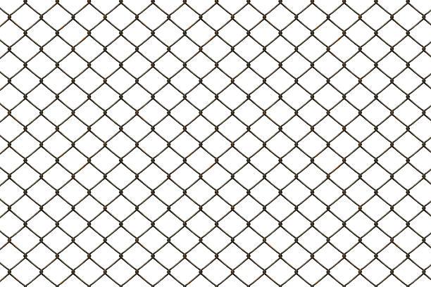 rusty clôture - grillage photos et images de collection