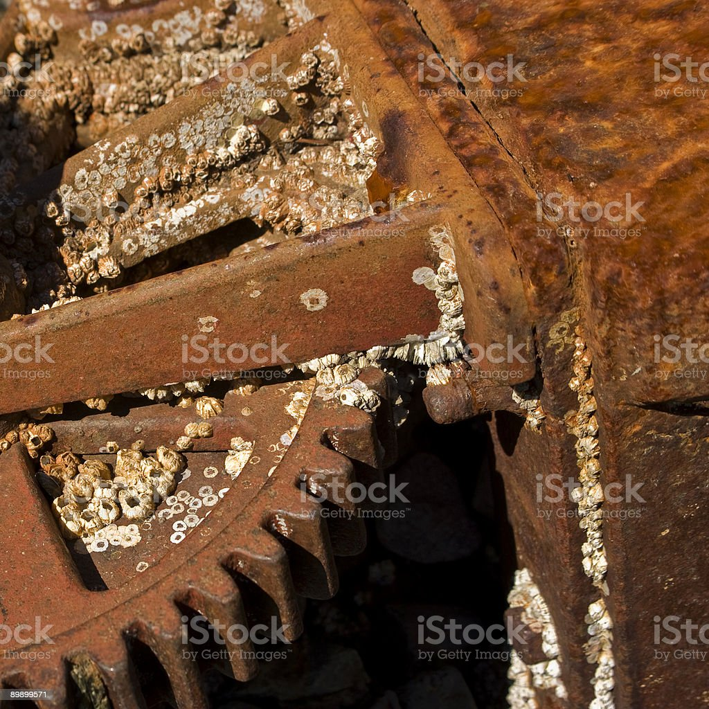 Заржавленный экипировку Стоковые фото Стоковая фотография