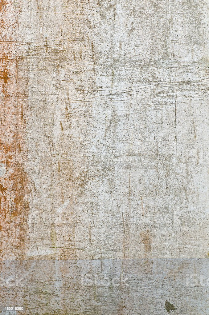 Rusty grunge cement wall for background use royalty-free stock photo