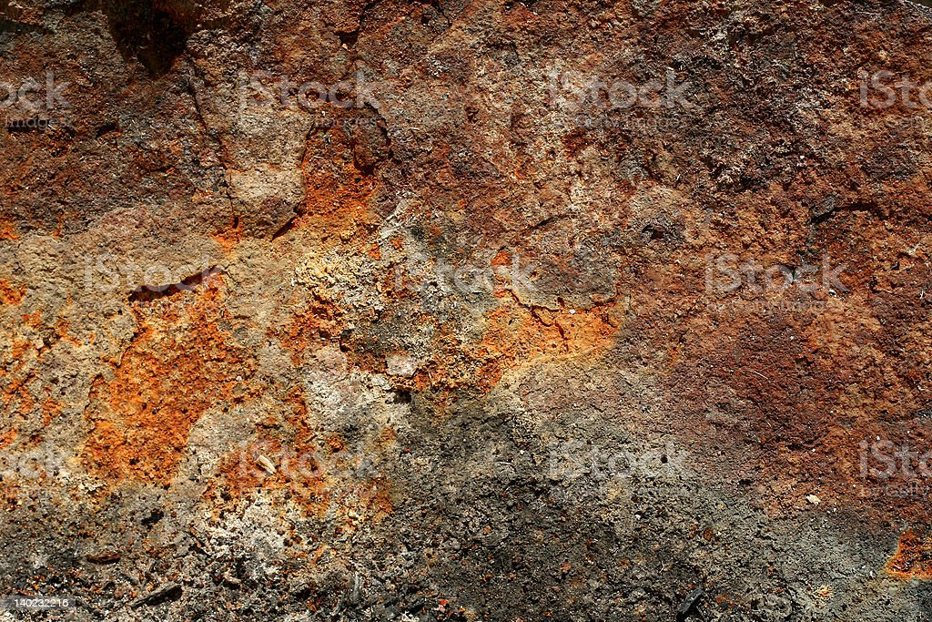 Rusty grunge metal texture royalty-free stock photo