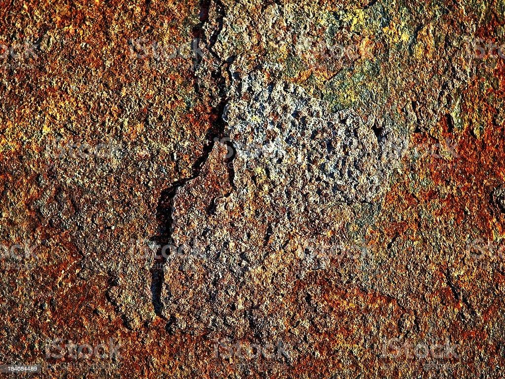 Rusty grunge texture royalty-free stock photo