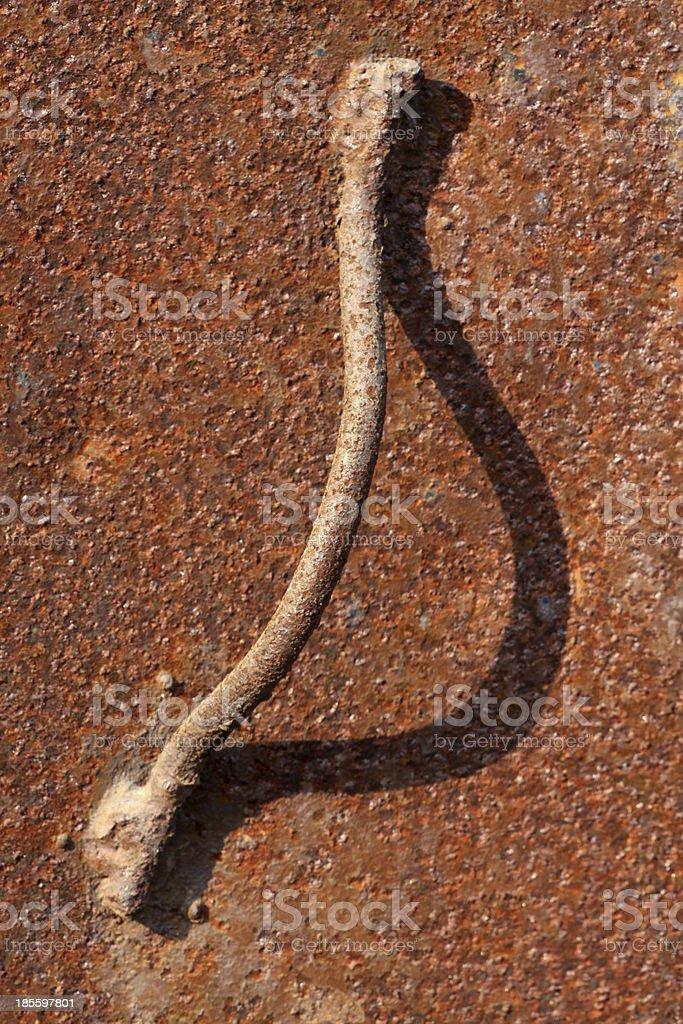 rusty iron gates royalty-free stock photo