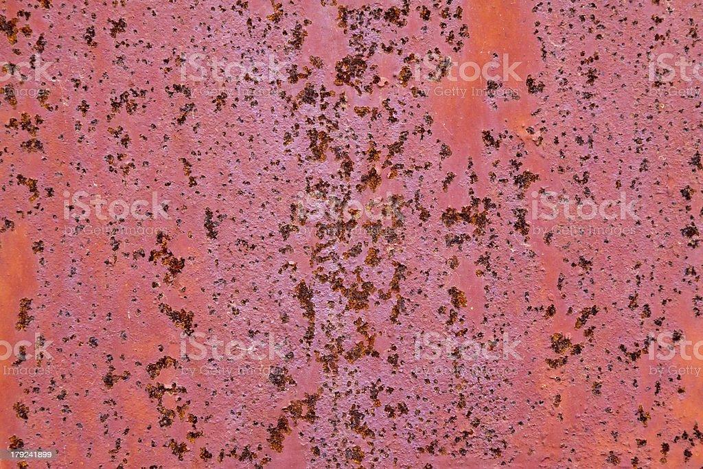 rusty iron plate royalty-free stock photo