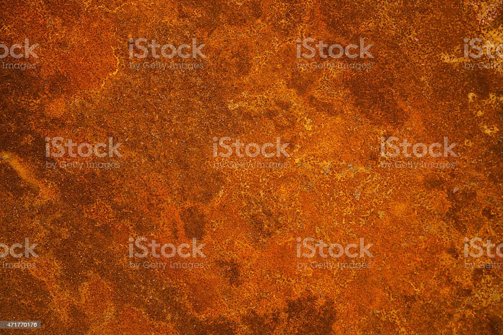 Rusty iron plate stock photo