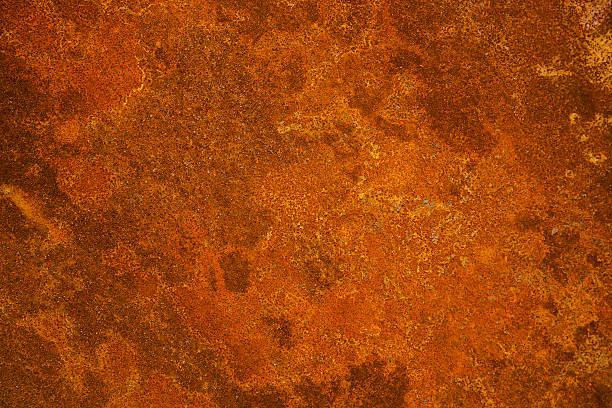rusty iron plate - rusty stock photos and pictures