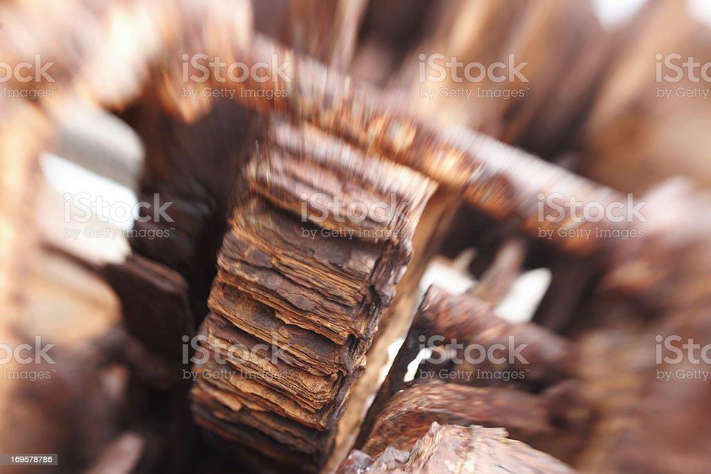 Rusty iron - useful as background stock photo