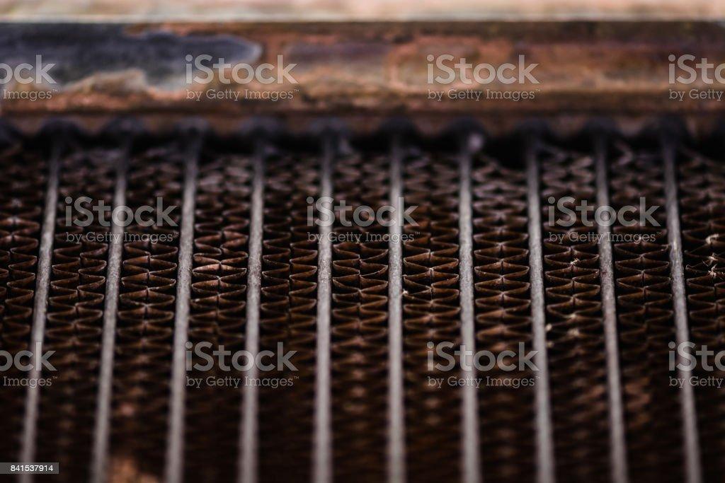 Rusty lattice. stock photo