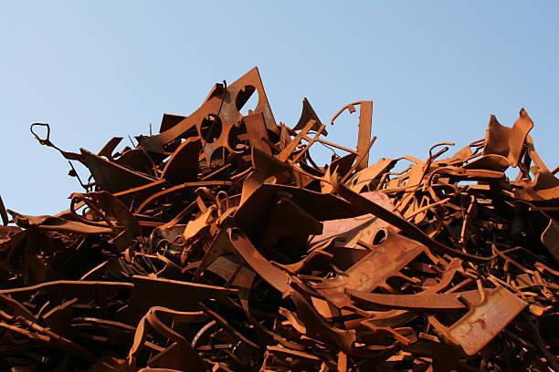 Rusty metal and iron # 3 stock photo