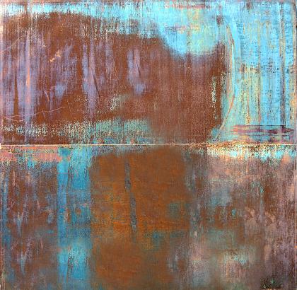 Rusty metal illustration background