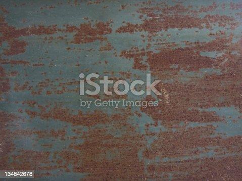 istock Rusty Metal Background 134842678