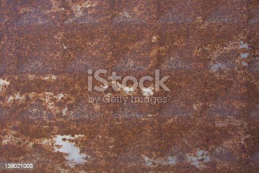istock Rusty Metal Background 138021003