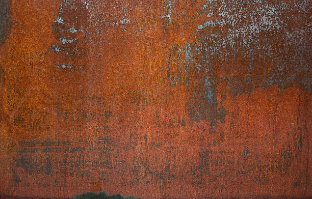 rusty metal background - rusty stock photos and pictures