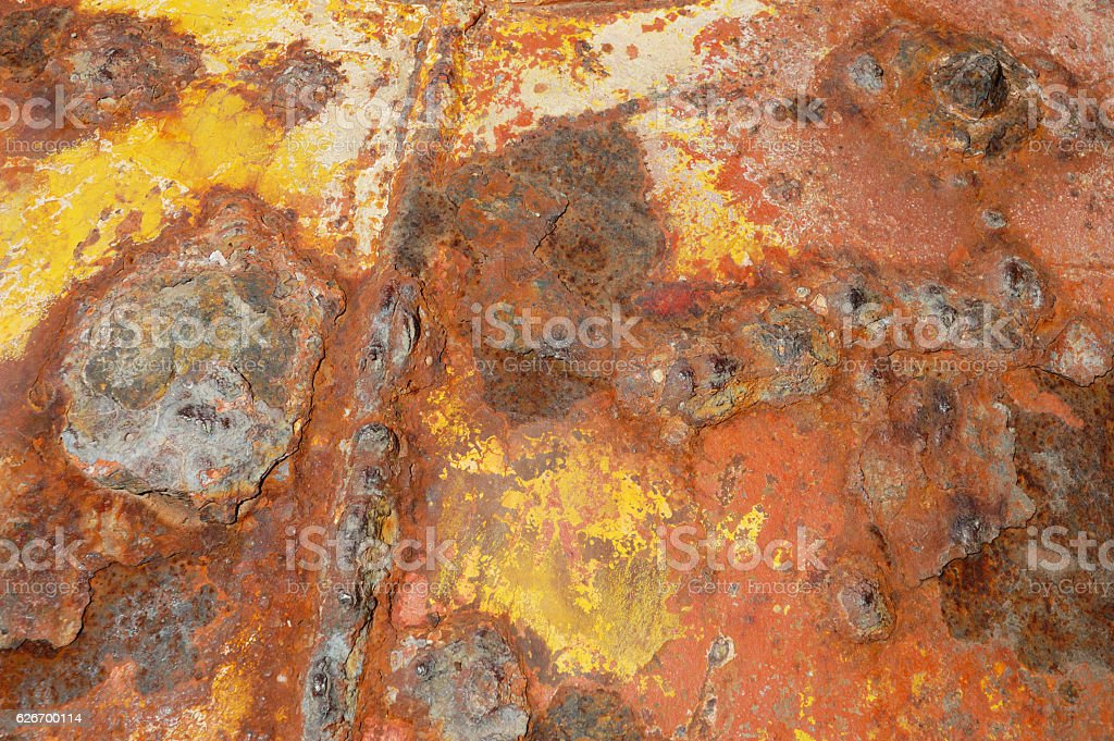 Rusty Metal Background Texture stock photo