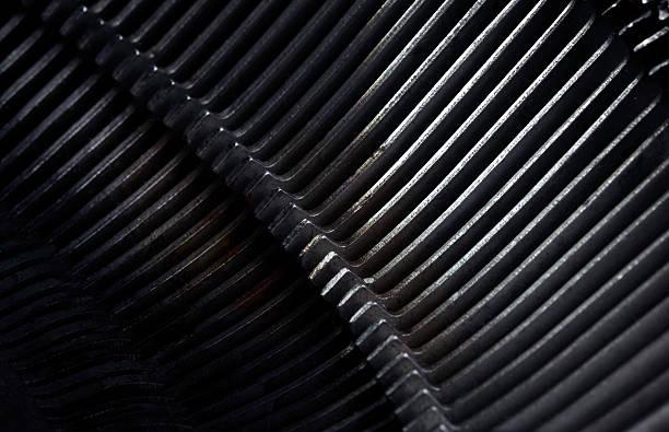 Rusty metal bars background stock photo