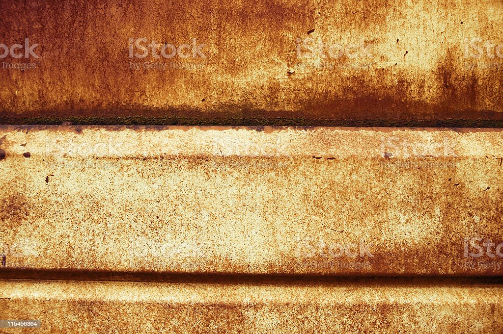 Rusty Metal Panel stock photo