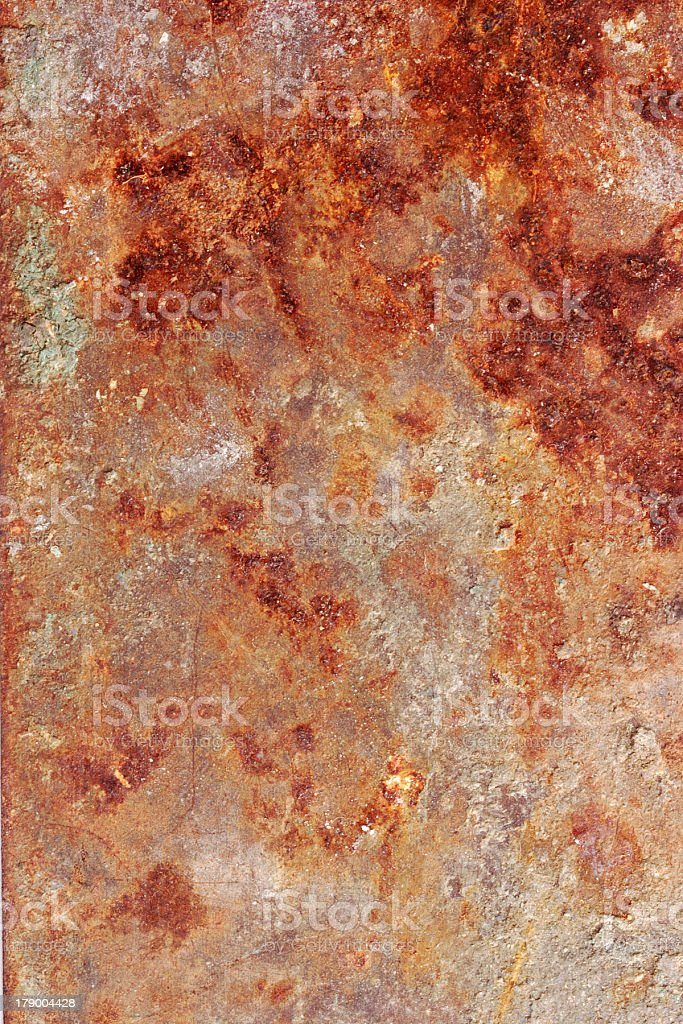 Rusty metal royalty-free stock photo