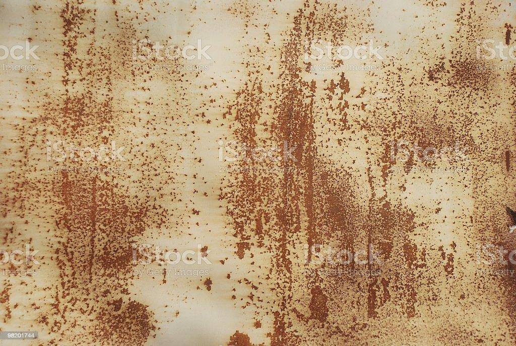 rusty 금속면의 royalty-free 스톡 사진