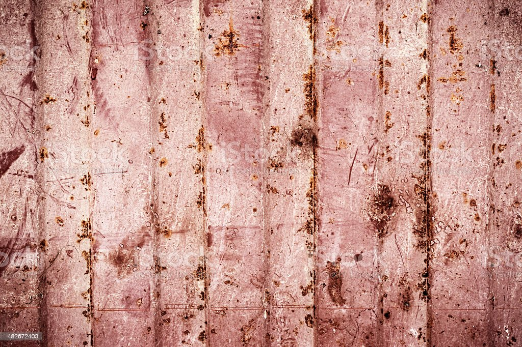 Rusty metal plate background royalty-free stock photo