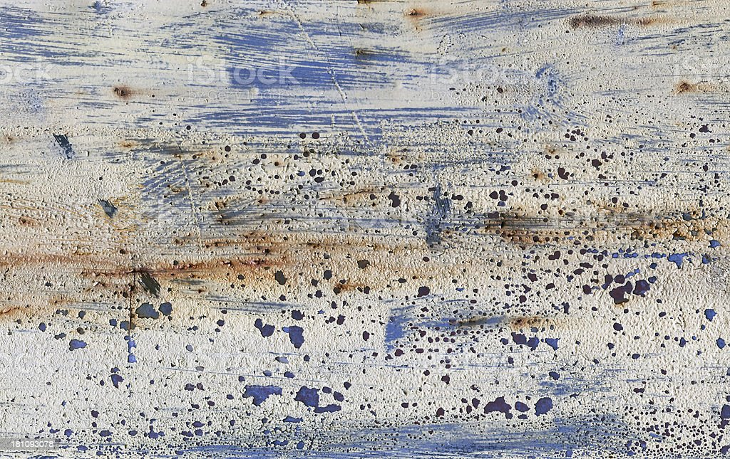 Rusty Metal Plate royalty-free stock photo