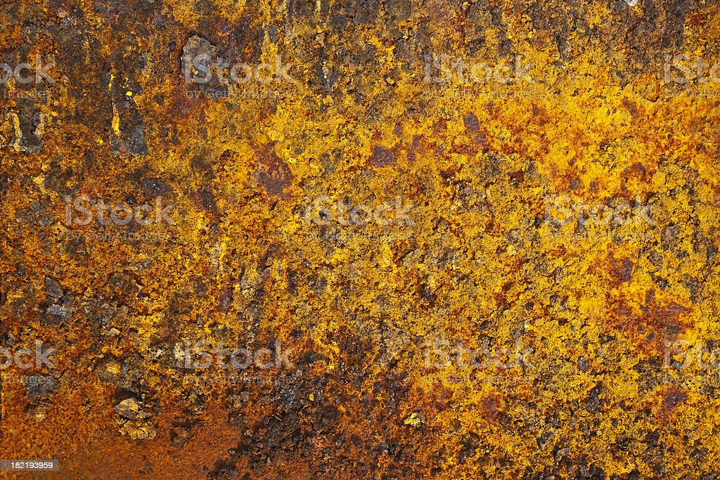 Rusty metal surface. royalty-free stock photo