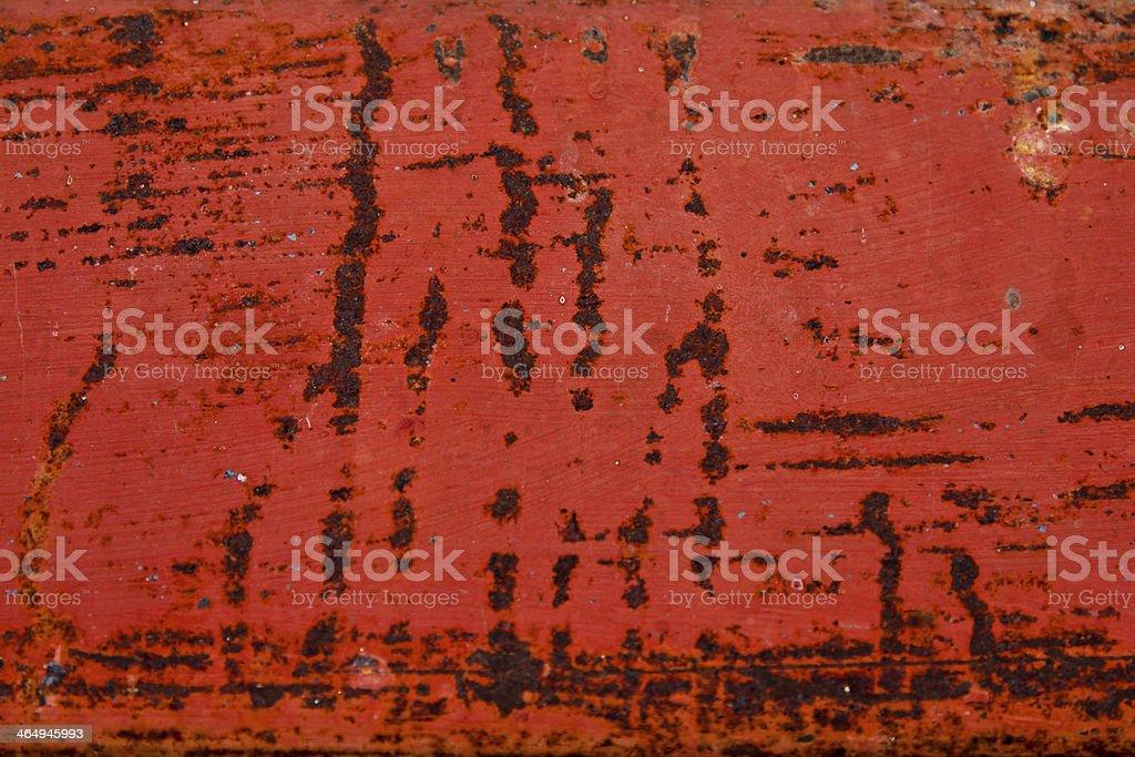Rostige Metall-Oberfläche – Foto
