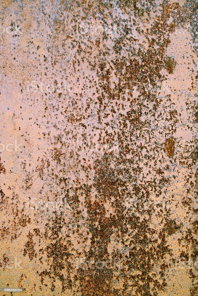 rusty metal surface royalty-free stock photo