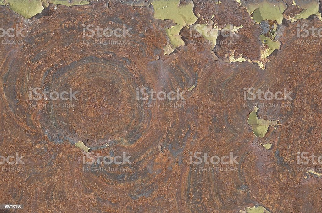 Rusty Metal Texture Background royalty-free stock photo