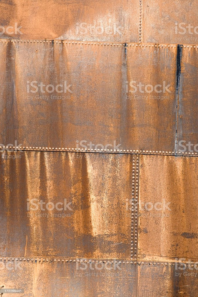 Rusty Metal Texture III royalty-free stock photo