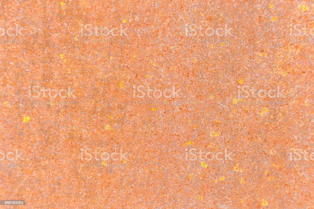 Rusty metalen textuur of roestige metalen achtergrond voor interieur, exterieur decoratie en conceptontwerp van industriële bouw. roestig metaal wordt veroorzaakt door vocht in de lucht. - Royalty-free Abstract Stockfoto