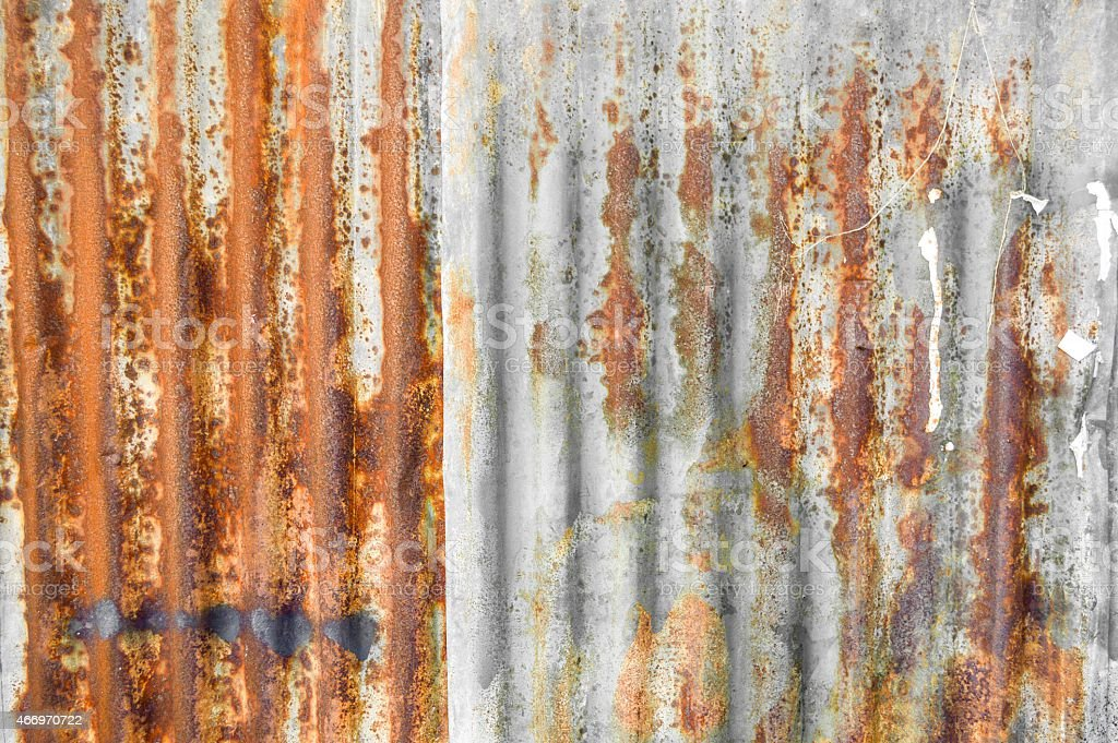 Rusty metal texture stock photo