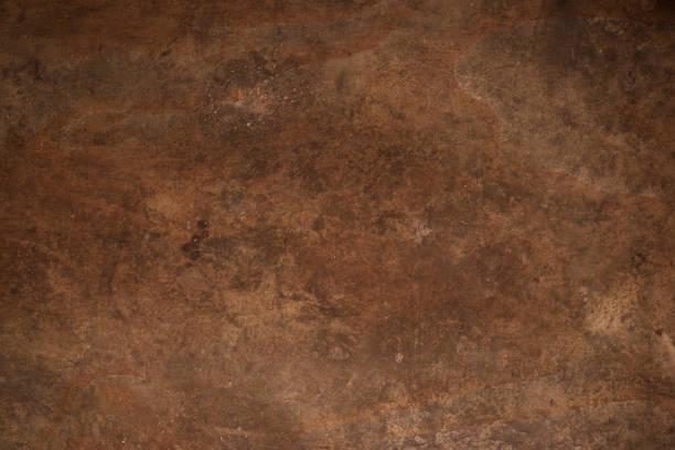 生銹的金屬質地。生銹的金屬背景。生銹金屬板的格魯格復古復古復古風格,用於設計,文本複製空間 - 銅色 個照片及圖片檔