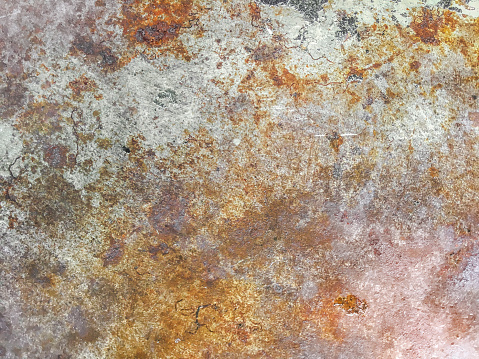 Rusty metal textured background