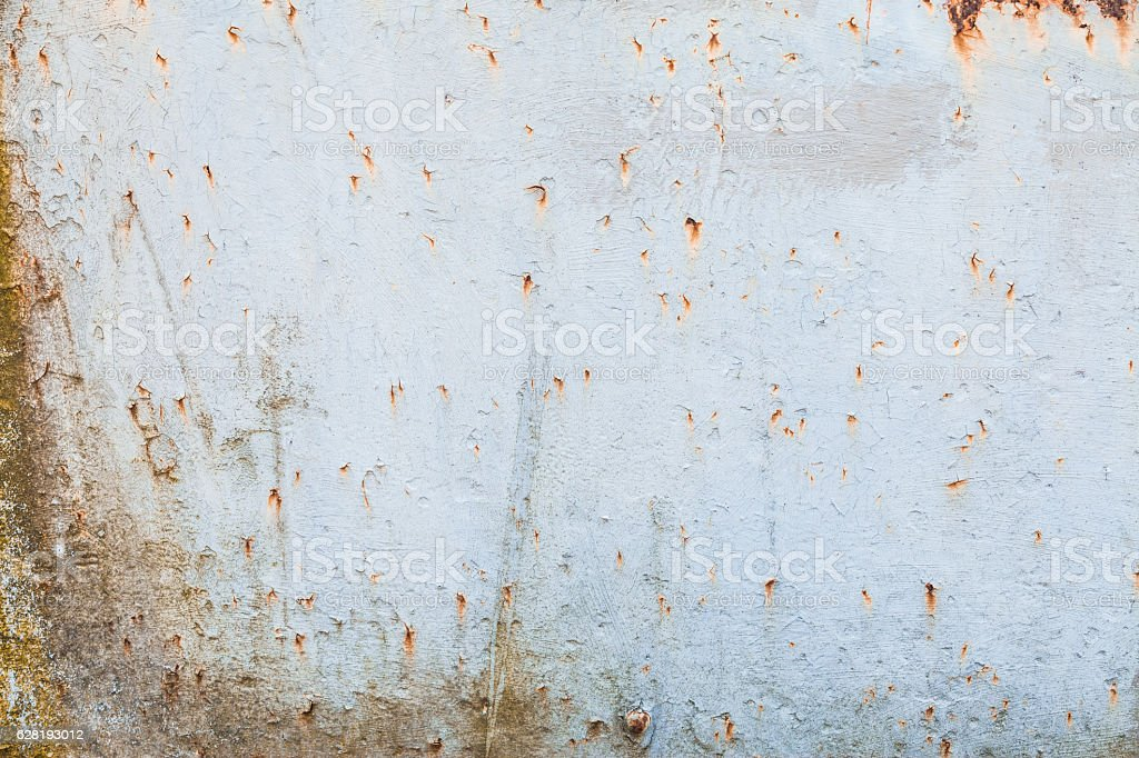 Rusty metal wall background stock photo