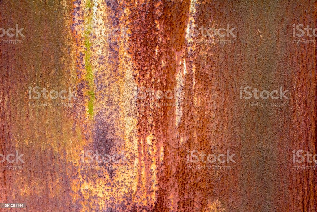 rusty metallic background stock photo