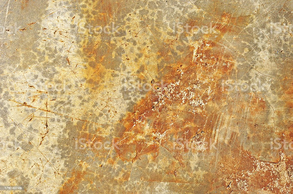rusty of metal royalty-free stock photo