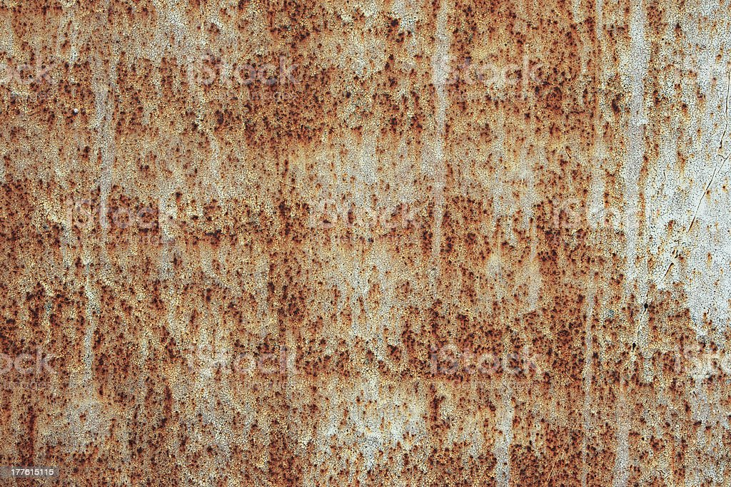 Rusty old metal plate. royalty-free stock photo