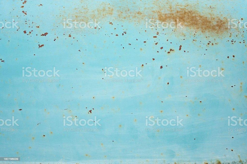 Rusty Old Paint Job royalty-free stock photo