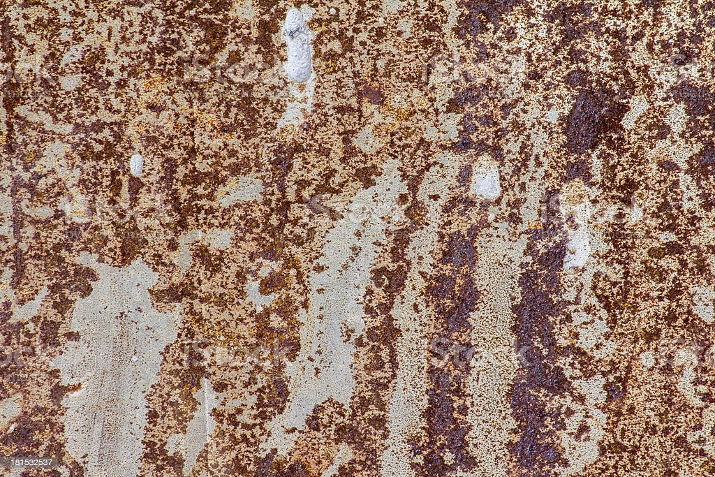Rusty old plate royalty-free stock photo