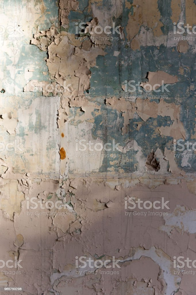 Rusty Paint Wall Texture - Royalty-free Abstract Stock Photo