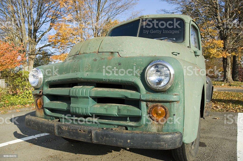 rusty pickup royalty-free stock photo