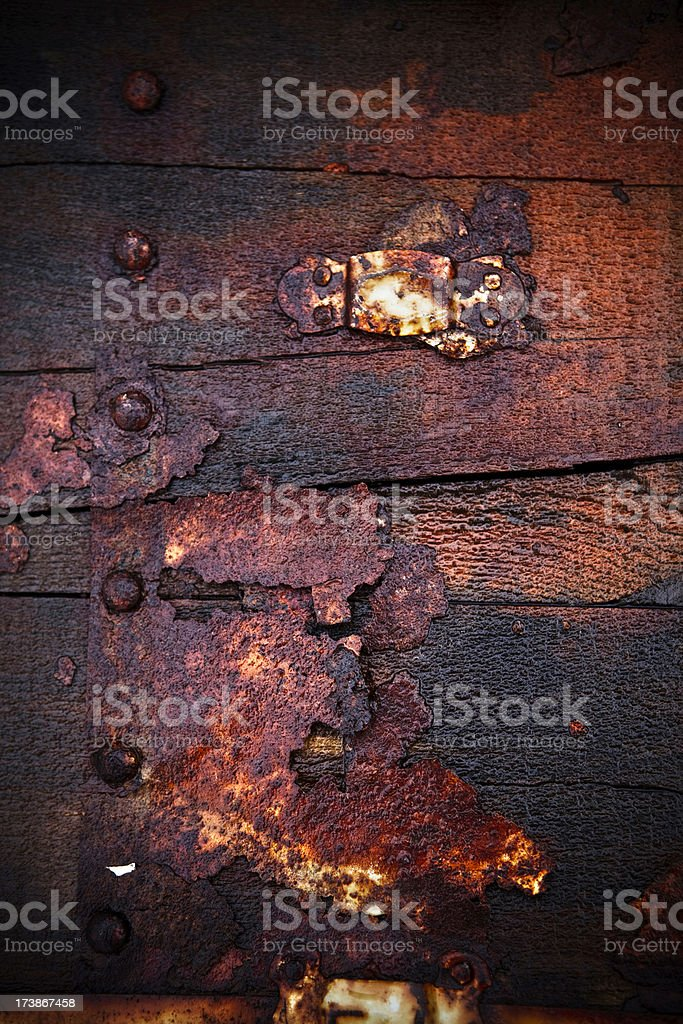 rusty royalty-free stock photo
