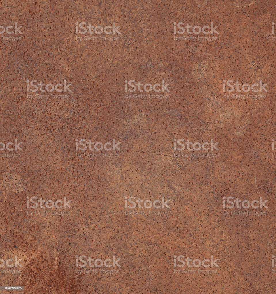 rusty plate royalty-free stock photo