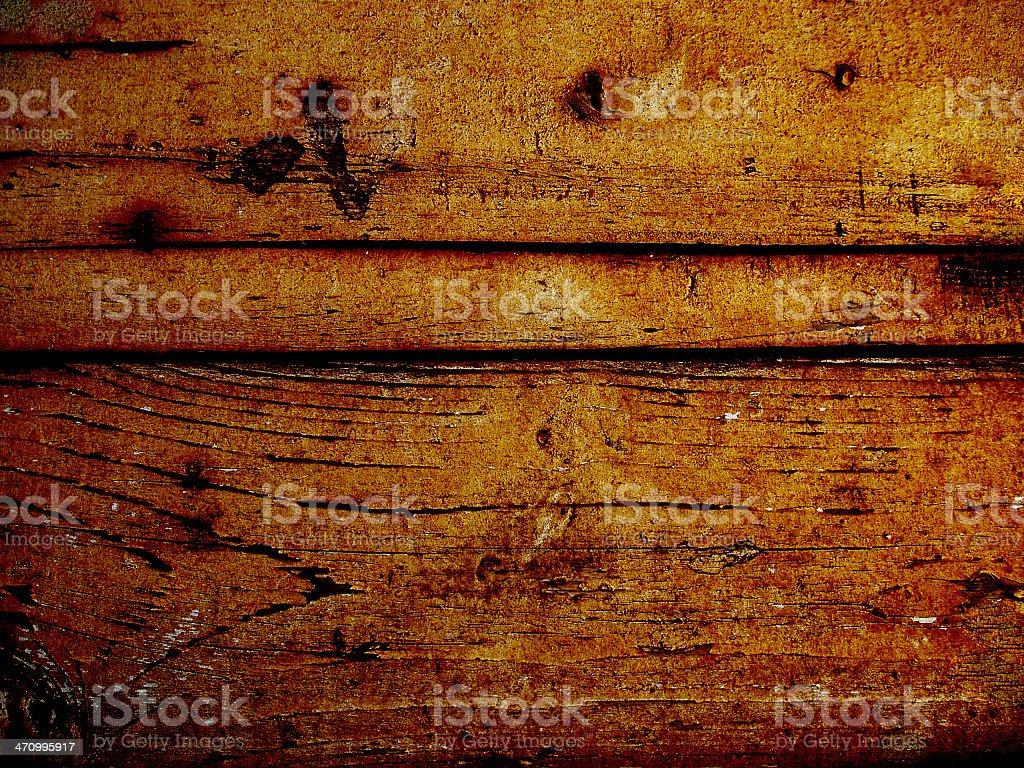 Rusty Railroad Plank stock photo