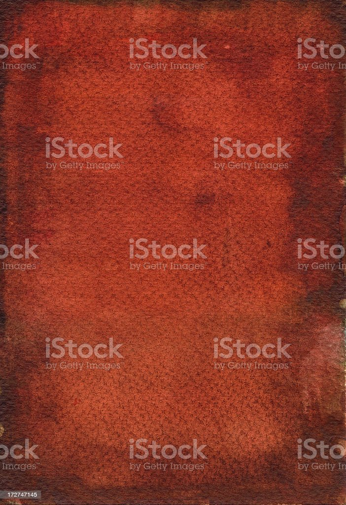 Rusty red I royalty-free stock photo