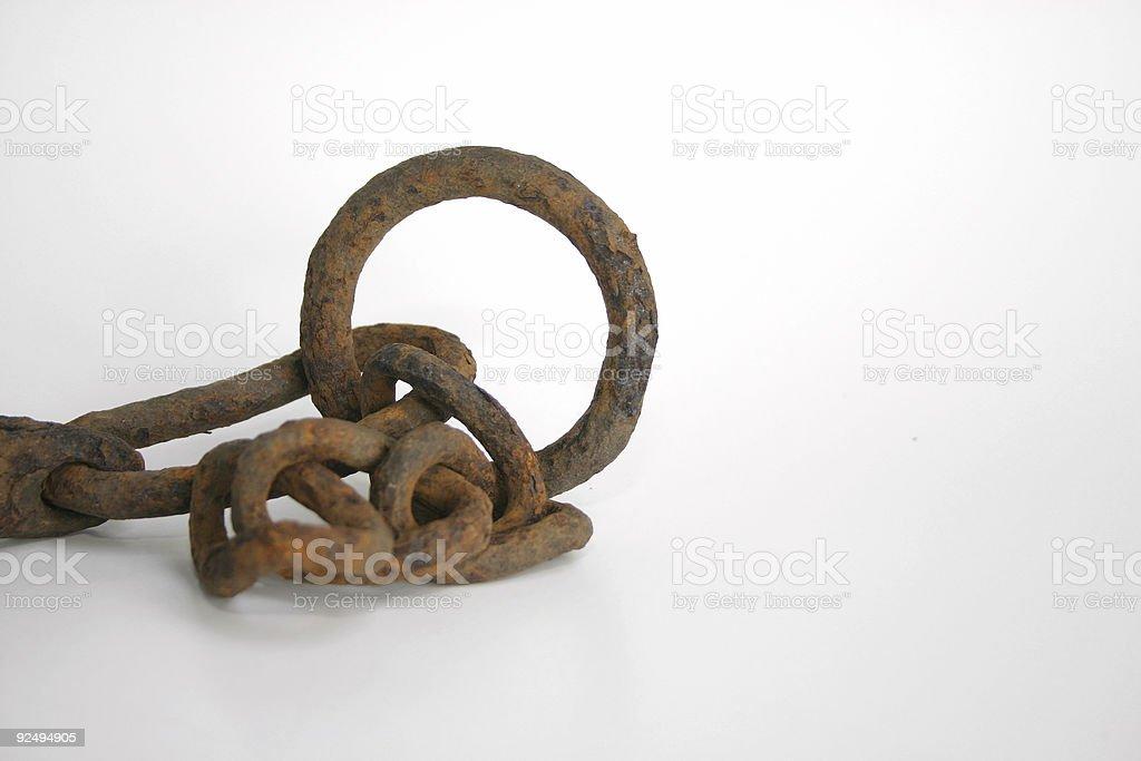 rusty ring royalty-free stock photo